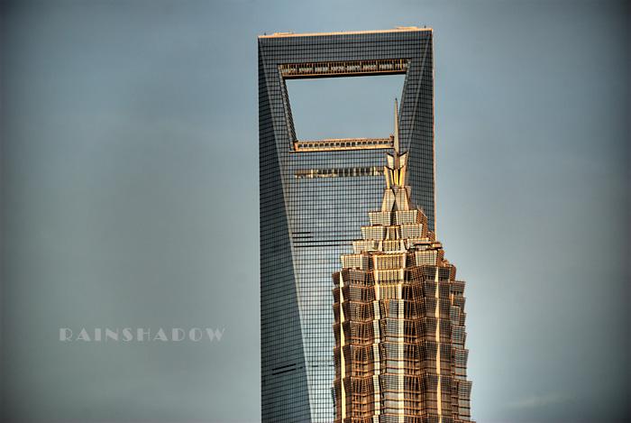上海的高度 HDR